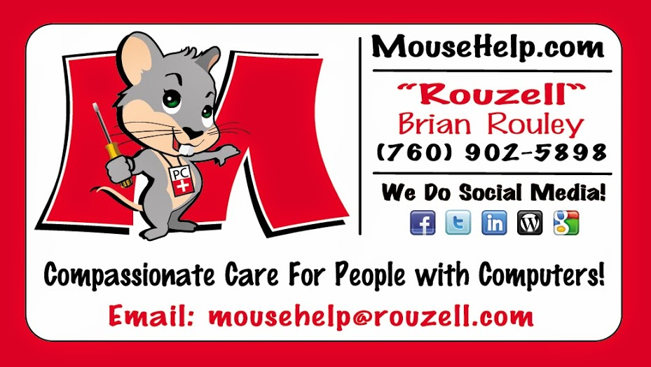 Mousehelp Business Card